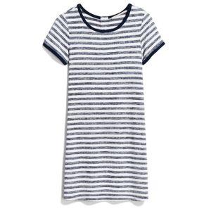 Market & Spruce Britta Stripe T-Shirt Dress
